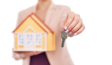 Keys to the house. Stock Photo