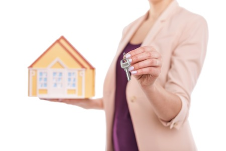 Keys to the house. Stock fotó