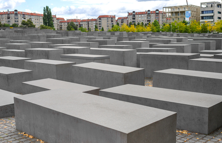 Memorial to Holocaust victims Berlin, Germany.