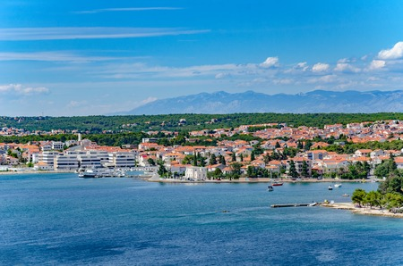 Zadar city from tower. Dalmatia. Croatia. Фото со стока