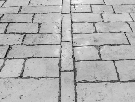 Textura de pavimento de piedra.