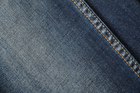 Jeans on the full background close up horizontal frame