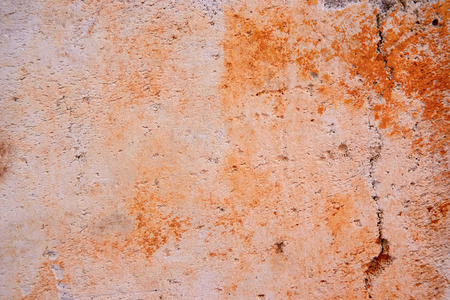 texture concrete wall with orange spots