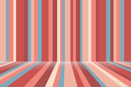 Striped room texture background in pastel colors. Suitable for banners, websites, posters. Vector.