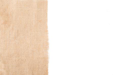 linen texture: Natural linen texture with space place. Burlap background. Top view.