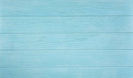Blue wooden background. Top view. Wooden blank texture.