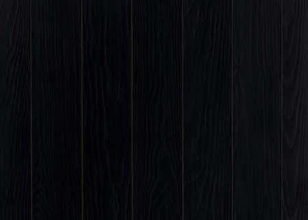 Black wooden background. Top view. Dark Wooden blank texture. Banco de Imagens