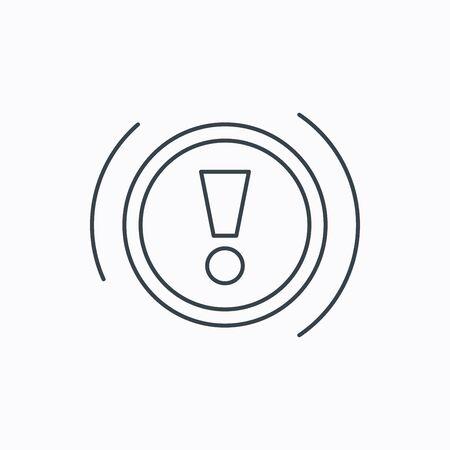 warning icon: Warning icon.