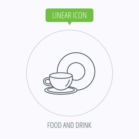 coffee icon: Coffee cup icon Illustration