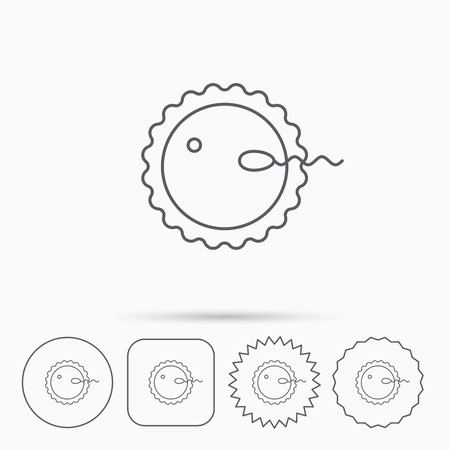 coitus: Fertilization icon.