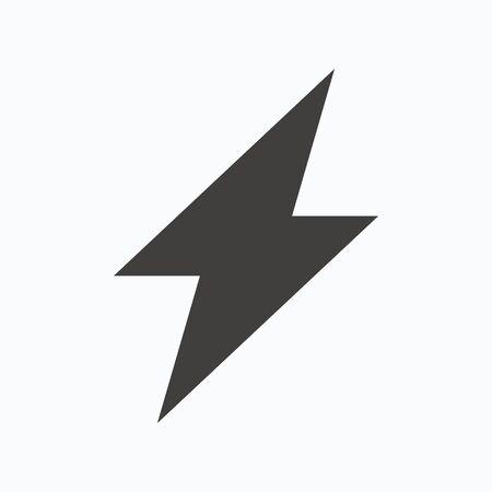 Blitz-Symbol. Strom-Energie-Symbol. Häkchen, 24 Stunden Service Und ...