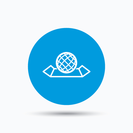 World map icon globe sign travel location symbol blue circle vector world map icon globe sign travel location symbol blue circle button with flat web icon vector gumiabroncs Images