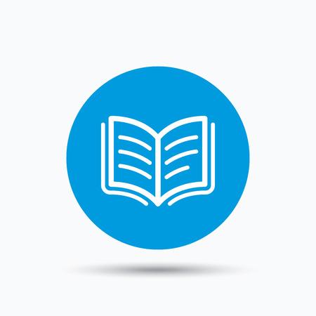 Symbol In Literature Book Icon Study Literature Sign Education