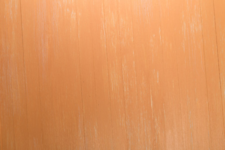 scraped: Orange wood background. Painted scraped wooden board. Bright texture or pattern.