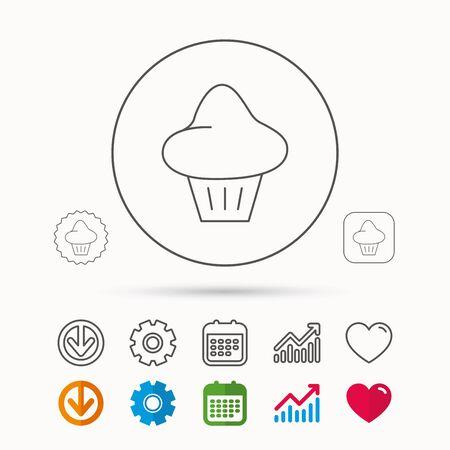 Brioche icon. Bread bun sign. Bakery symbol.