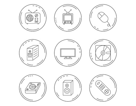 3121 Television Console Stock Vector Illustration And Royalty Free