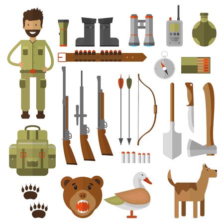 Hunting equipment icon.