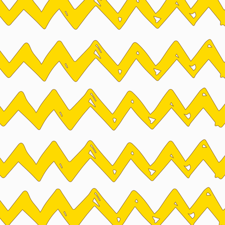 Summer abstract hand-drawn wave pattern. Background can be used for wallpaper, fills, surface texture, scrapbook, party decoration, t-shirt design, card, print, poster, invitation packaging Illustration