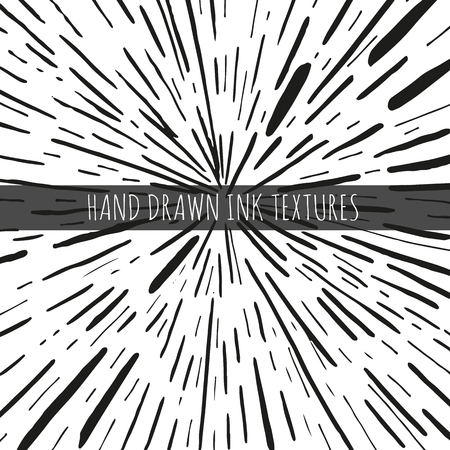 Ink hand drawn textures. Can be uses for wallpaper, background of web page, scrapbooking, party decorations, t-shirt designs, cards, prints, postcards, posters, invitations, packaging and so on