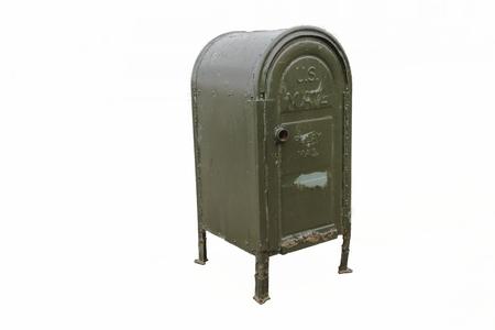 Street mail box Stock Photo