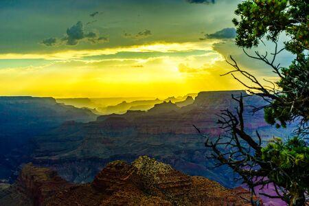 toroweap: Grand Canyon National Park Sunset Desert View Watchtower, Arizona, USA