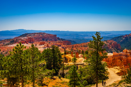 The Bryce Canyon National Park Utah United States.