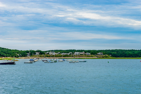Wellfleet Harbor Area Cape Cod, MA US.