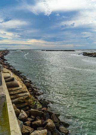 Virginia Beach Boardwalk, Virginia Beach US - September 12, 2017 Grommet Island Park.