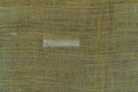 Texture of natural linen fabric, canvas background. Фото со стока