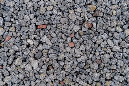 The background of the gravel image used as a walkway in the garden decor for the garden and gravel is a mixture of many construction. It is an important soil and can be beautifully decorated.