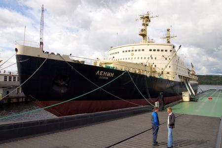 lenin: Icebreaker Lenin, Russian Federation, Murmansk