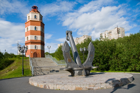 russian federation: Memorial to sailors who died in peacetime, Russian federation, Murmansk