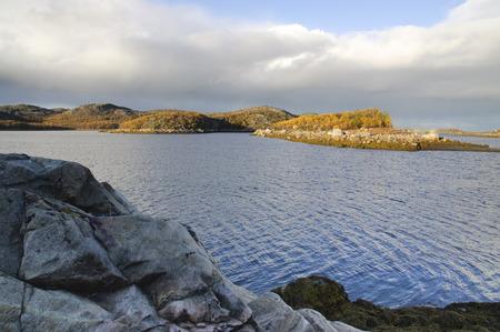 leaden: The landscape of the Kola Peninsula