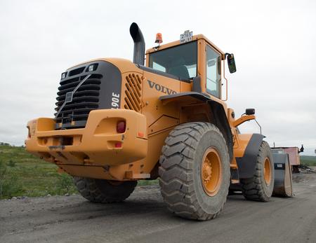 loader: Tractor Loader Volvo L90E Editorial