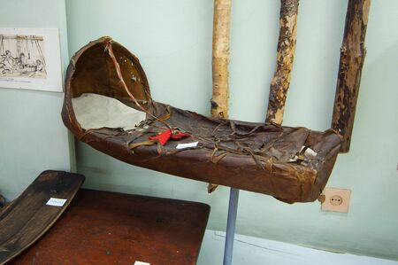 saami: Baby cradle - the subject of the Sami way of life