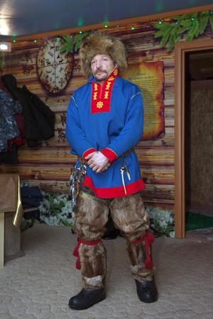 saami: Saam in national dress