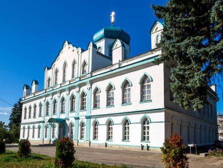 Kon-Kolodez, Russia - August 22, 2018: View of the Church of St. John the Theologian, Kon-Kolodez Village, Lipetsk Region