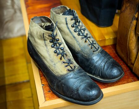 Mens stylish shoes - the 20th century