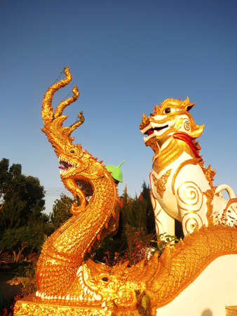 Legend of Dragon and Leo in Asia