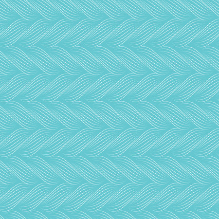 braids: Vector seamless pattern with braids. Texture of yarn with dotted line plaits close-up. Abstract ornamental background. Endless stylish texture. Ripple background. Decorative illustration for print,web