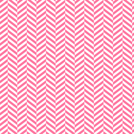Chevron background. Red and white stripped seamless patern. Geometric fashion graphic design. Vector illustration. Modern stylish abstract texture.Template for print, textile, wrapping and decoration Illustration