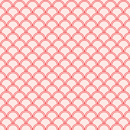 Abstract geometric circle seamless pattern. Fashion graphic. Background design. Modern stylish texture. Vector illustration. Used for wallpaper, pattern fills, web page,background,surface textures. Illustration