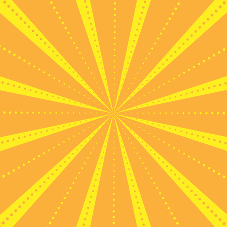 radius: Rays Striped with dots Pattern with Light Burst Stripes Abstract Wallpaper Background.
