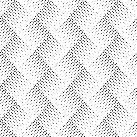 Vector seamless pattern with dots. Abstract ornamental background. Stylish texture. Optical illusion 3D. Abstract texture. Template for print, textile, wrapping and decoration