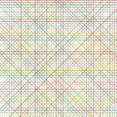 Colorful strip, abstract of colored vertical, horizontal and diagonal lines.