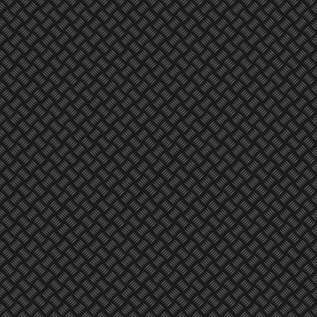 Metal grip texture generated. Seamless pattern. Stainless plate texture. Black and gray background. Template for print, textile, wrapping and decoration