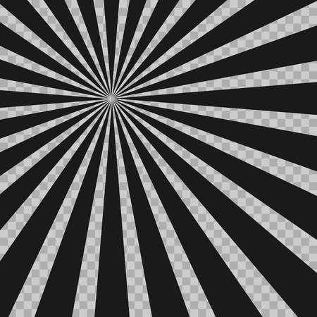 radius: Abstract comic book flash explosion radial lines background
