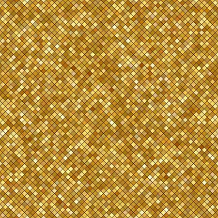 Texture or scintillant pour votre conception. Modèle vectorielle continue sous la forme d'un caillou comme la poussière d'or. Or petites figures métalliques. Motif sans soudure géométrique. Illustration vectorielle Banque d'images - 83237310
