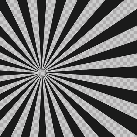 twist: Abstract comic book flash explosion radial lines background. Illusion rays. Retro sunburst. Grunge design element. Good for pictures, wallpapers. Vector illustration for superhero design.
