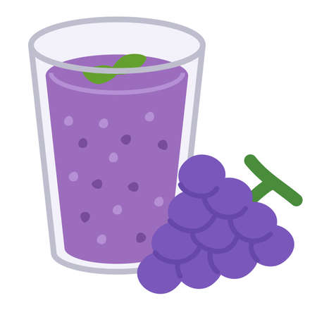 smoothie grape